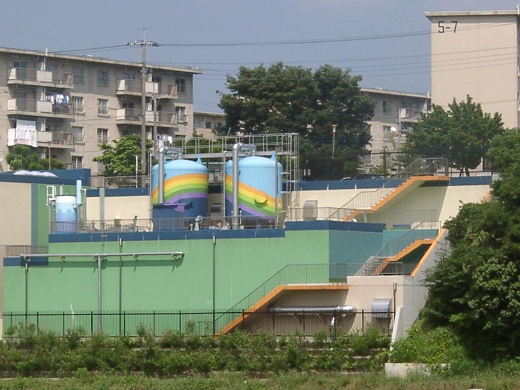 米本浄水場電気設備工事