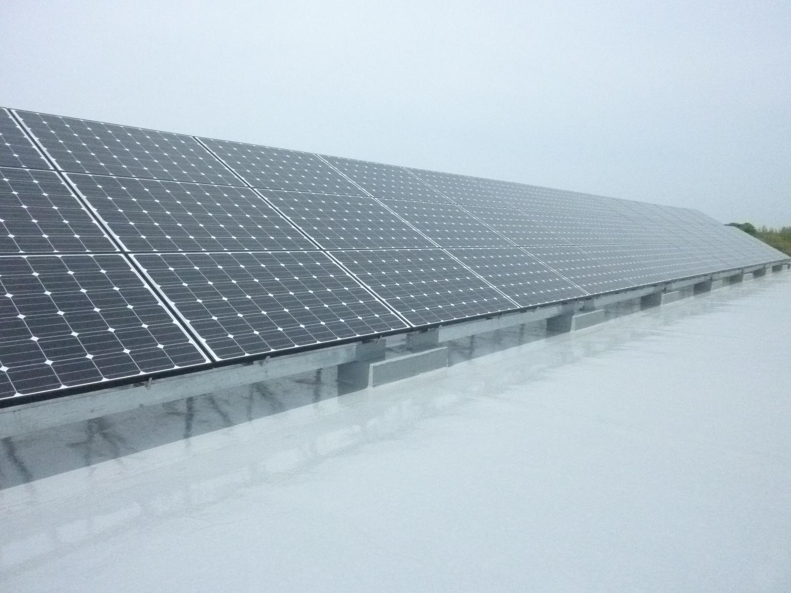 さくらハイツ太陽光パネル設置工事